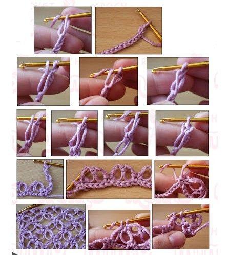 Amostre de Bolero de crochet com pérolas