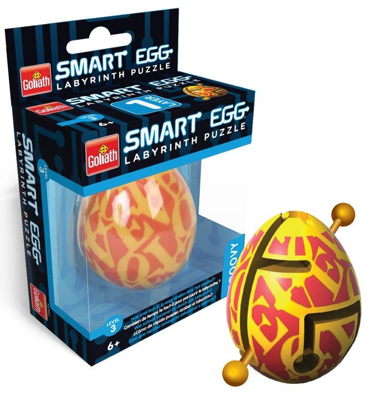 Het ei, de schil, de route, een ingang, een uitgang, geen onnodige zijpaden, geen doodlopende wegen. Op het eerste gezicht lijkt het eenvoudig, maar zoals vaker is het niet zo slim om op die eerste indruk af te gaan. Wel slim is het alles te vergeten wat je ooit hebt geleerd, je fantasie ruim baan te geven en elke mogelijkheid uit te proberen. Dat is bij de Smart Egg Groovy de sleutel tot succes. Bij de Smart Egg, een verslavende breinbreker die al diverse internationale prijzen won, is het…