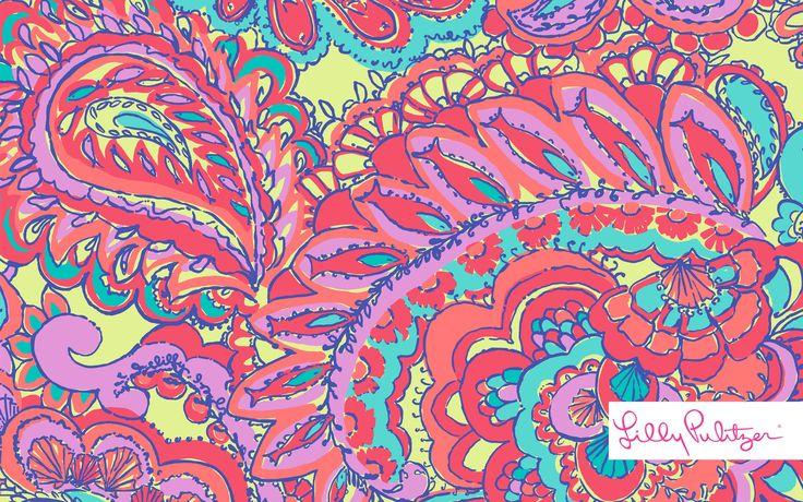 feelin 39 groovy desktop wallpaper lilly pulitzer prints
