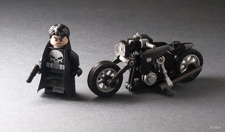 Custom Frank Castle & motorbike