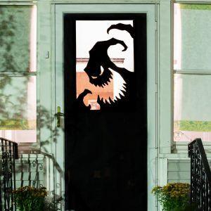Halloween Ideas For Decorating A Door