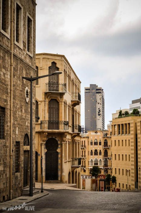 The scars of war still very evident in the Lebanese capital…@ http://themostalive.com/lebanon-the-brave/