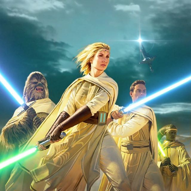 Star Wars: The High Republic - Light of the Jedi - #StarWarsTheHighRepublic  #StarWarsArt #StarWars #ProjectLum… in 2020 | Star wars episode 2, Star  wars universe, Star wars