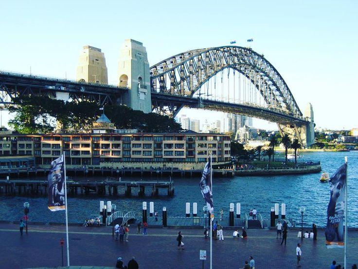 Sydney Habour Bridge 시드니의 상징 하버 브릿지 #sydneyharbourbridge #habourbridge #sydney #australia #travelstagram #시드니하버브릿지 #하버브릿지 #시드니여행 #호주여행 #여행스타그램 by geniewook http://ift.tt/1NRMbNv