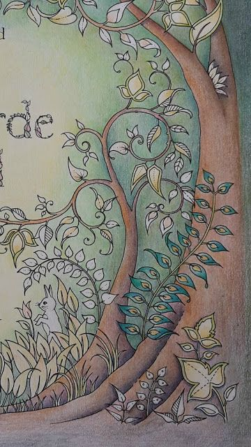 Passion For Pencils Enchanted Forest The First Page Part 2 Bruynzeel Design
