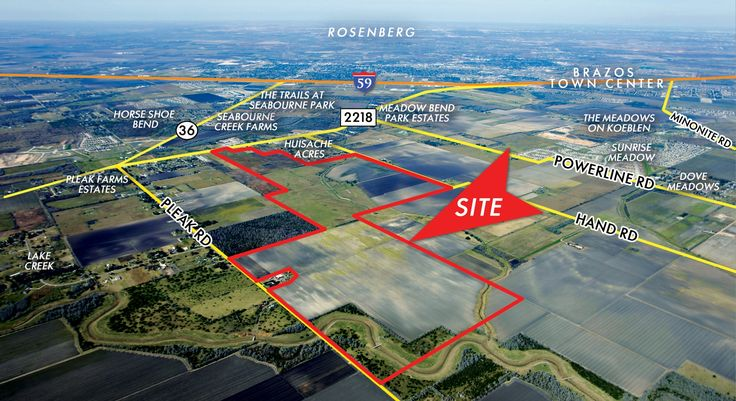 An affiliate of Long Lake Development has purchased 549 acres in the Rosenberg area as the site of a new community. Rockspring Capital, a real estate private equity investment firm in Houston, sold the land to BGM Land Investments, according to McAlister Real Estate.