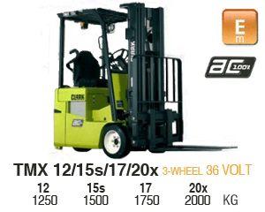 Clark TMX 12 Electric Forklift