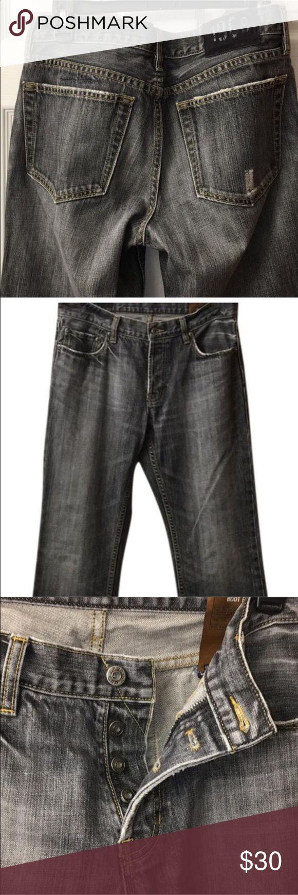 Vintage GAP button fly jeans Vintage button fly gap jeans. Size 32x34.  Broken in sandblasted denim color. GAP Jeans Bootcut