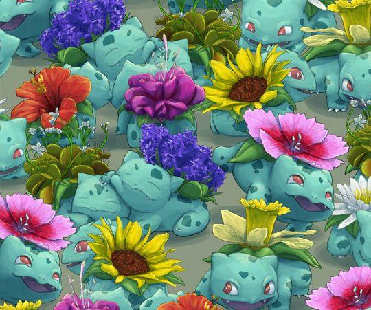 Blooming Bulbasaur: um jardim de Pokémon!     Garotas Geeks