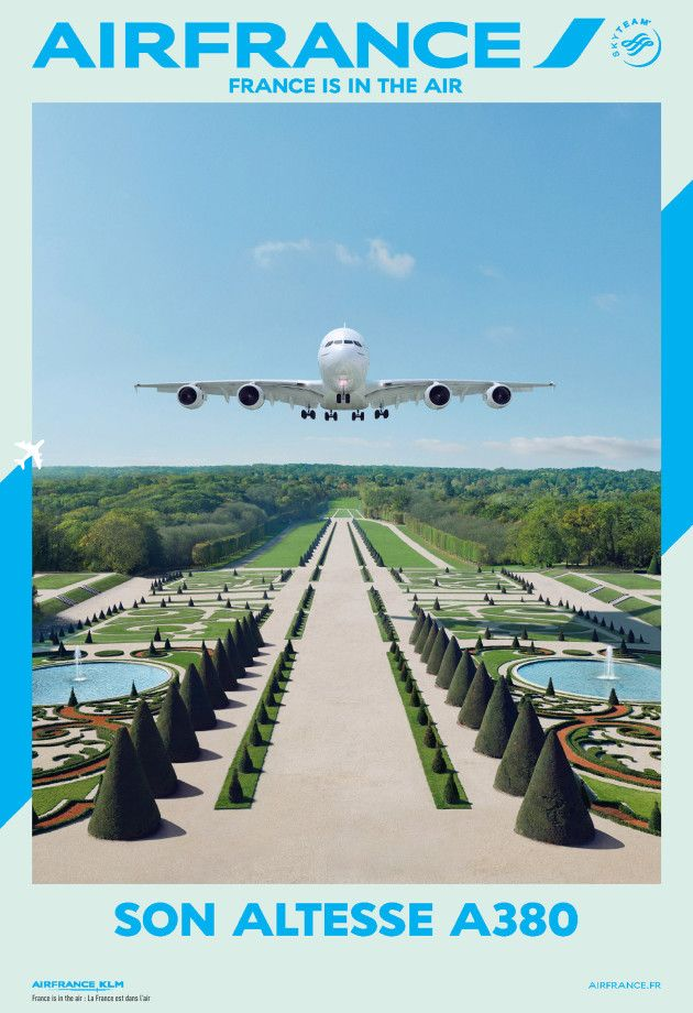 Air France - Altesse Airbus A380  - the new branding campaign by BETC Paris