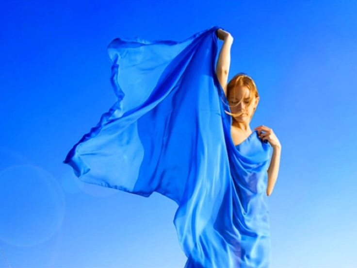 синий салон красоты вектор