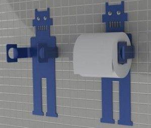 déco design porte papier toilette  Toilette  Pinterest