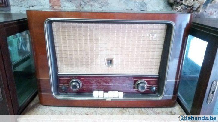 Antieke radio Philips!