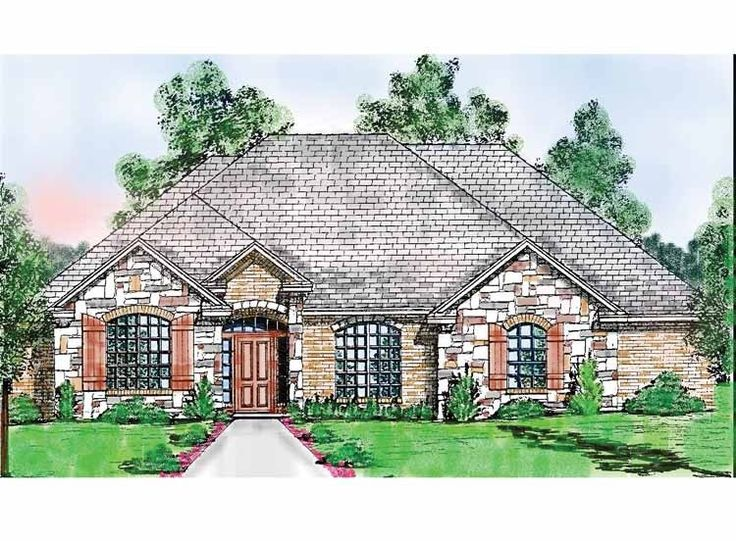 Best Floor Plans Images On Pinterest Craftsman Ranch Dream