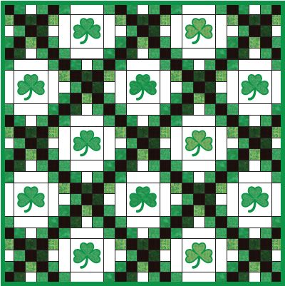 Irish Barn Quilt Patterns : 1000+ images about Irish Quilt patterns on Pinterest Luck of the irish, Quilt and Embroidery