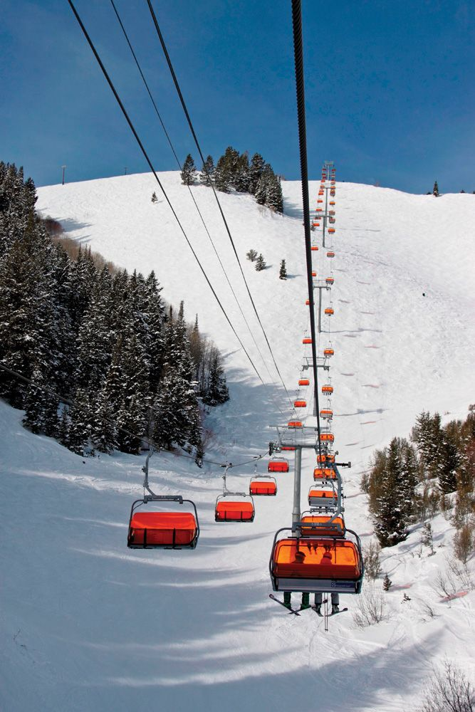 Canyons, UT ranked #10 in Ski Magazine's Best Ski Resorts in the West