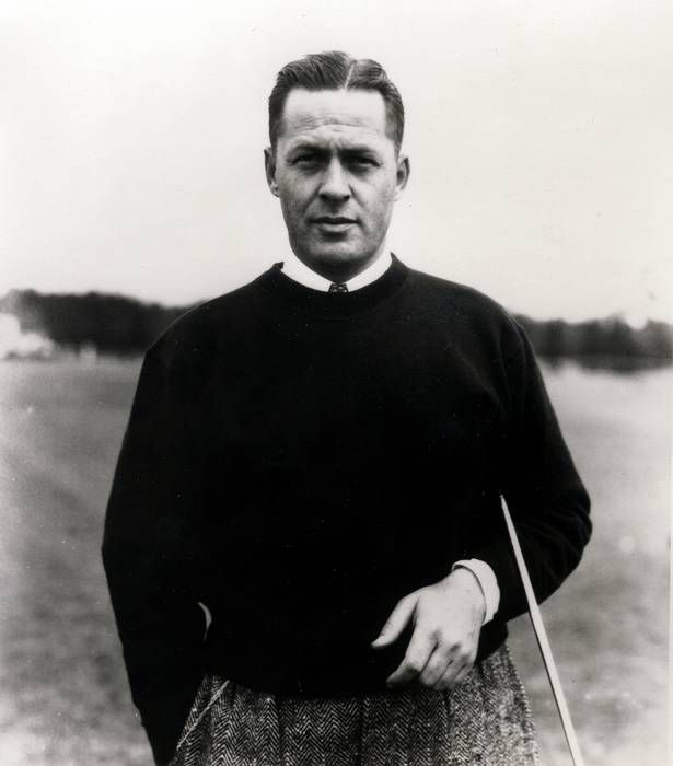 Bobby Jones - the most successful amateur golfer ever to compete on a national and international level.