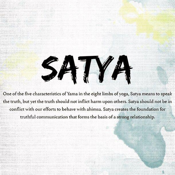 Satya The 2nd Yamas According To Patanjali Yoga Facts