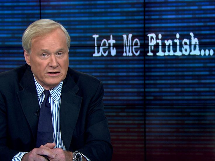 WHOA! It Sounds Like Chris Matthews Just Endorsed Trump (VIDEO)