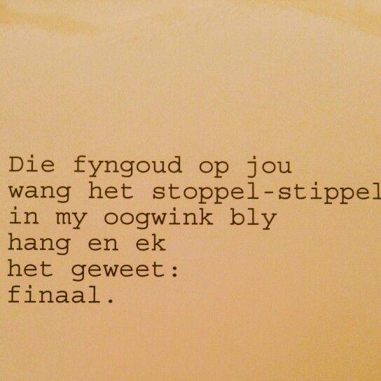 Fyngoud deur Caren