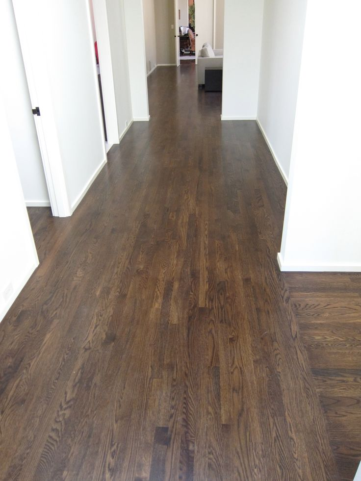 Ninos Hardwood Floors Hallway  Job 1 in 2019  Hardwood floors Flooring Hardwood