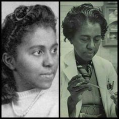 Black Then's Remembering A Pioneer: Dr. Marie M. Daly, a biochemist & the 1st African American woman in the United States to earn a Ph.D. in Chemistry (awarded by Columbia University in 1947). Her many honors included an induction into Phi Beta Kappa.