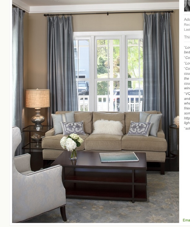Traditional Living Room 25 Need To Know Measurements For Decorating Light Blue Curtain On Beige Wall