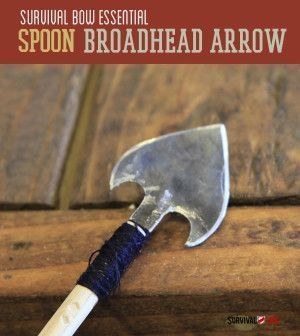 How To Turn A Spoon Into A Survival Weapon   Cool Homemade DIY Survival Gear For Hunting By Survival Life http://survivallife.com/2014/07/10/how-to-turn-a-spoon-into-a-survival-weapon/