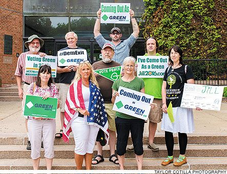 01 Aug '16: Bucks County Herald - Green Party in Bucks County gets bump in membership - Hubby & I did it by mail. Also donated online! #DEMEXIT #GoGREEN
