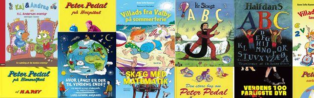 Børnebøger - Find din næste børnebog på bøger.org. Vi har samlet en lang række af de klassiske børnebøger som inspiration til dig, klik på billedet og se bøgerne.