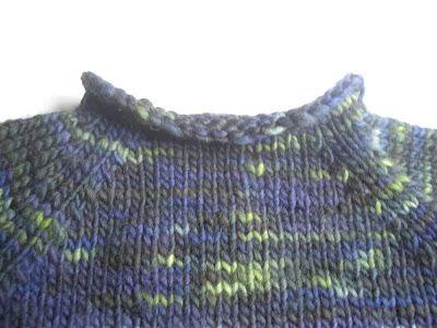 aha mama :): kötősuli - raglán pulóver alulról varrás nélkül
