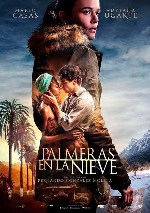 Nuevo póster de 'Palmeras en la nieve', con Mario Casas y Adriana Ugarte