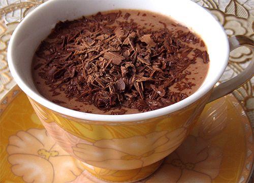 Горячий шоколад домашнего приготовления — пошаговая инструкция
