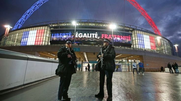 Uniting in a symbol of defiance and respect, players and fans of the French and English soccer teams delivered a moving display of solidarity at Wembley Stadium at a friendly staged four days after the deadly attacks in Paris. A touching pre-game ceremony saw England and France supporters...