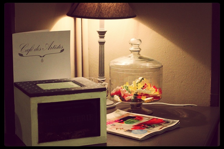 Café des Artistes offers candies to all guests: discover them all! #candies #crocodiles #candy