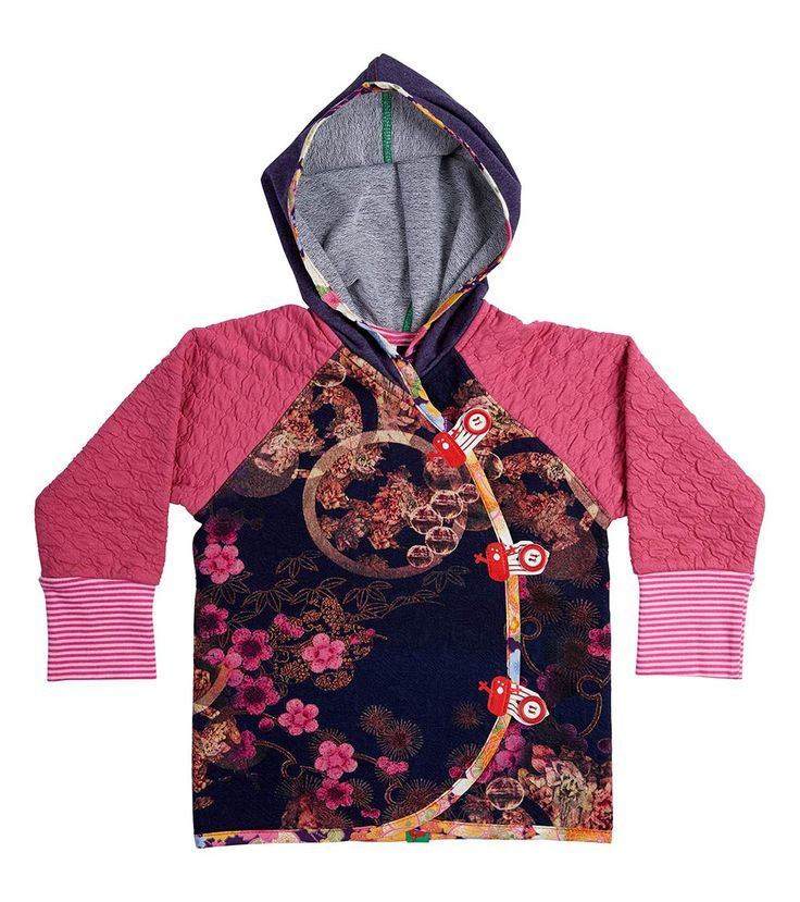 Kyoto Hoodie, Oishi-m Clothing for kids, Winter 2017, www.oishi-m.com