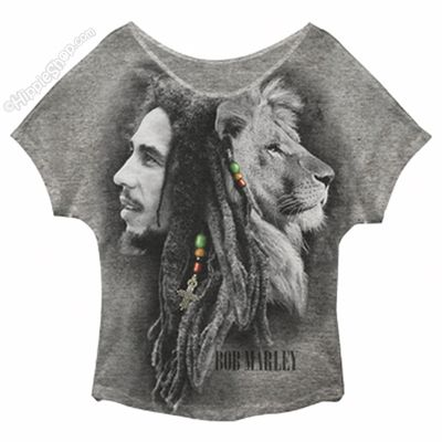 Bob Marley - Profiles Dolman Raglan  Women's T Shirt