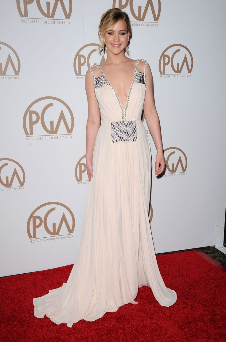 Jennifer Lawrence At 26th Annual Producers Guild Awards