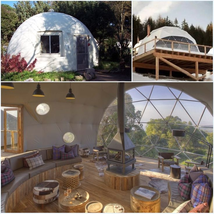 Luxury Dome Home Plans: 25+ Best Ideas About Domos Geodesicos On Pinterest
