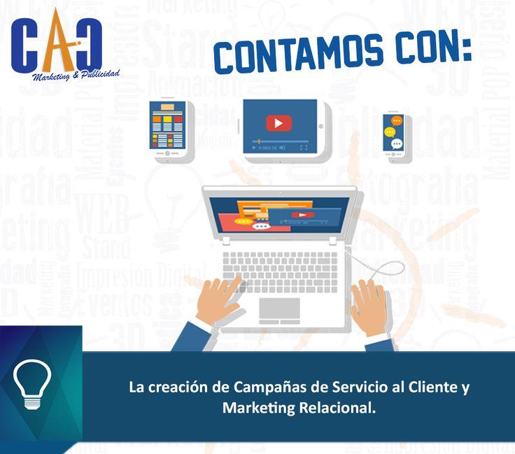 Te damos más porque contamos con más en CAC Marketing & Publicidad. #Marketing