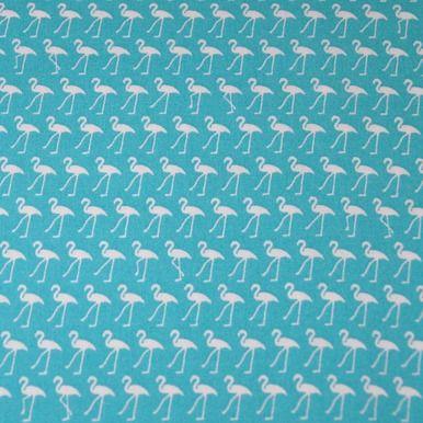 Sevenberry - Flamingo Fabric - Blue