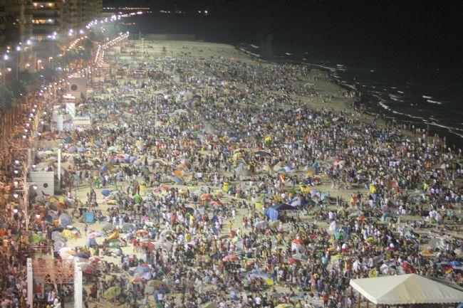 Las barbacoas del Carranza, en plena #playa de #Cádiz #Fútbol y #Fiesta