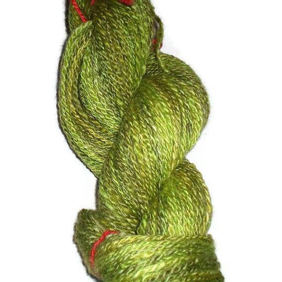 Handspun, hand dyed, DK 2-ply yarn. EU Seller