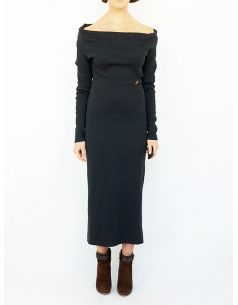 jean paul gaultier wool vintage dress