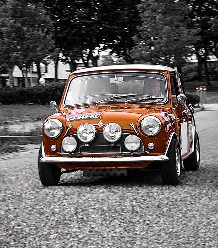 Morris Cooper S   Flickr - Photo Sharing! What a great color!!!