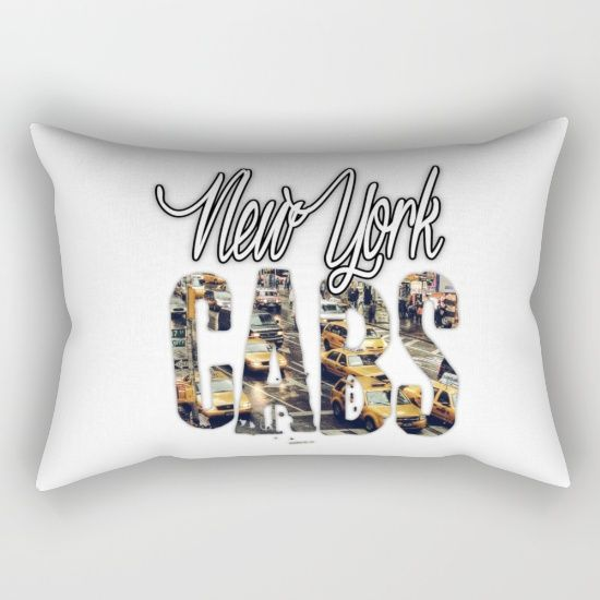 Buy NY Cabs Rectangular Pillow by ongadesign. Worldwide shipping available at Society6.com. Just one of millions of high quality products available.