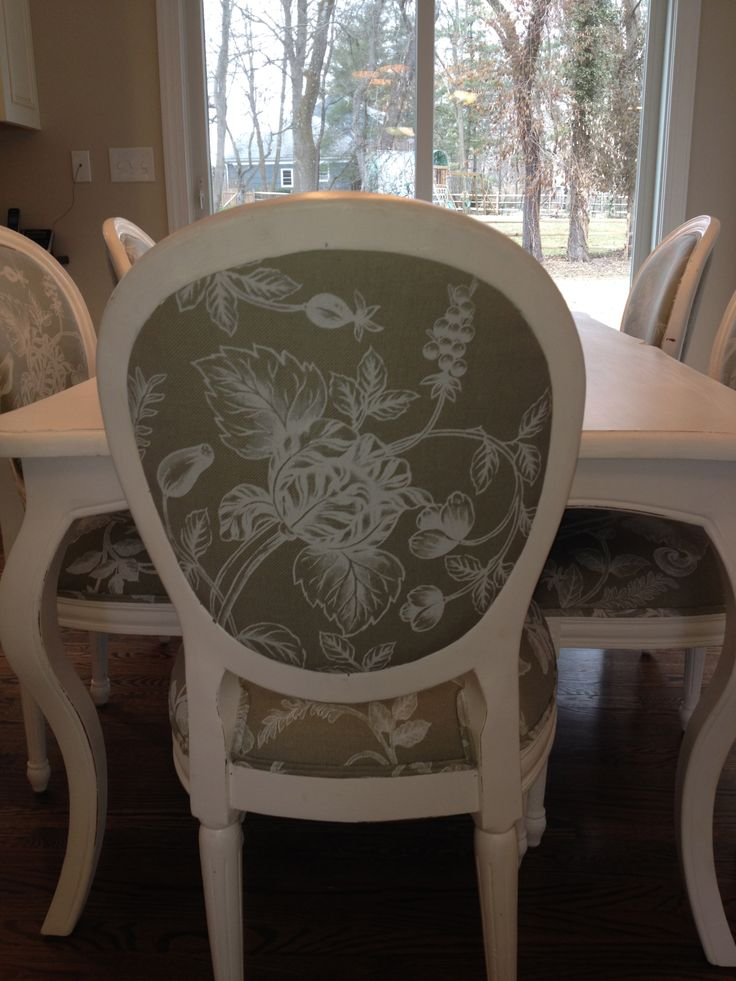 Awesome Choose A Fabric, Choose A Design And Chairs Are Hand Painted Just For You.