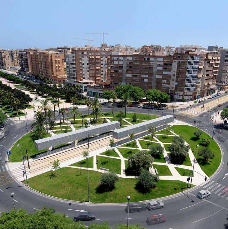 Tram stop in Alicante, Spain by Subarquitectura