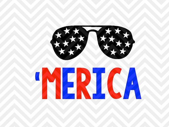 Merica Sunglasses Fourth Of July Fireworks 4th Of July