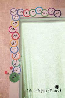 Building a Word-a-Pillar - site words